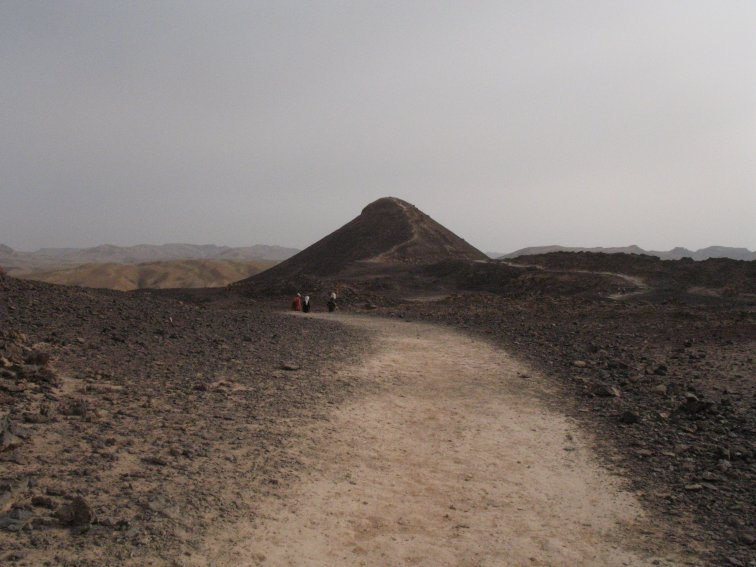 At Ramon crater